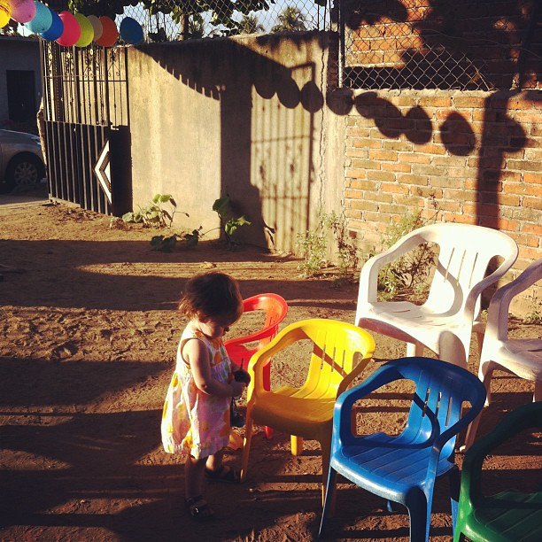 vee attends a fiesta for paulo. he is celebrating his 2nd birthday (13jan).