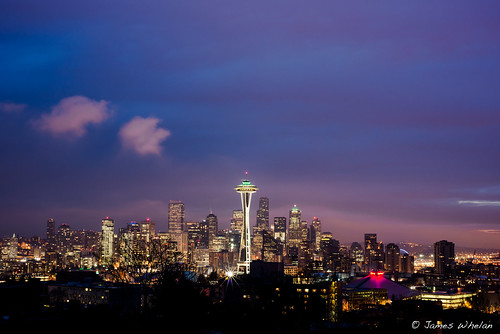 Seattle before sunrise