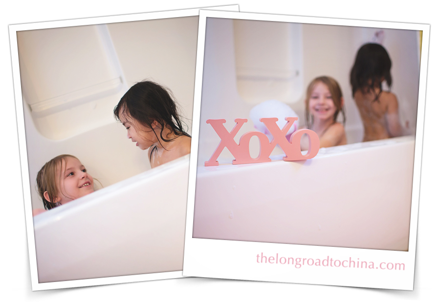 xoxo sisters collage