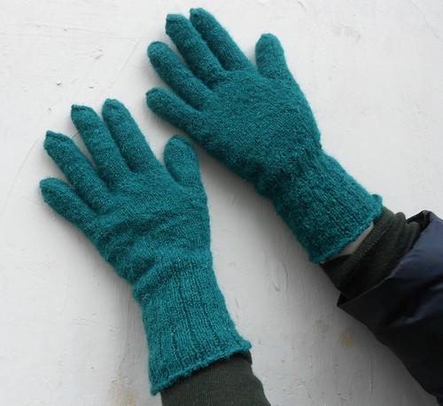 перчатки связаны на спицах | horoshogromko.ru