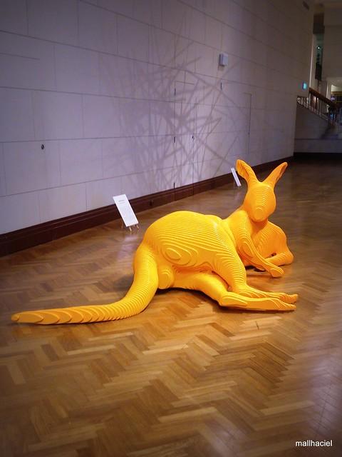 Lazing Kangaroo