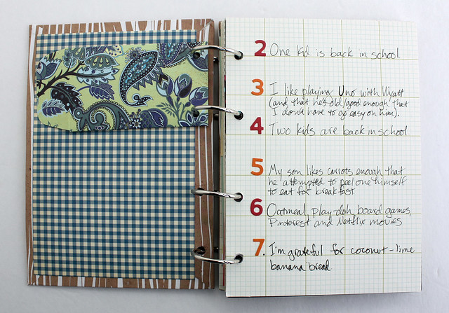 Homemade Gratitude Journal