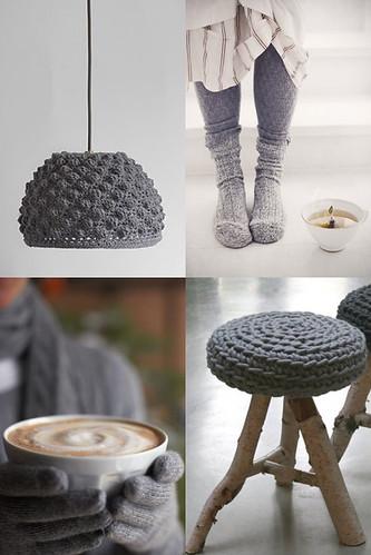 coziness in grey