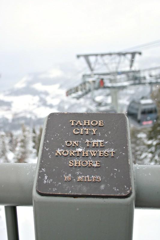 Lake Tahoe City, Tahoe, gondola in Tahoe, snow in Tahoe