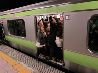 Full Yamanote Line Car