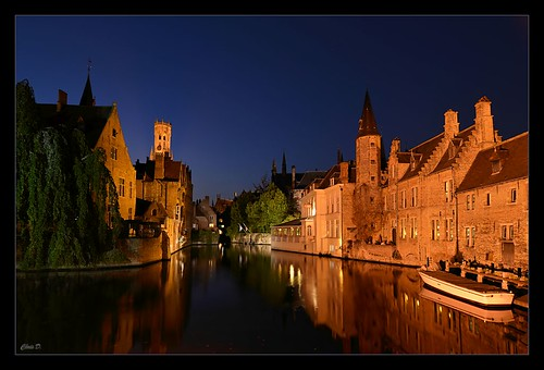 Brugge... night session by ZbigD