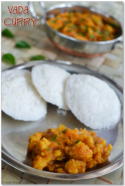 Vada Curry for Idli Dosa