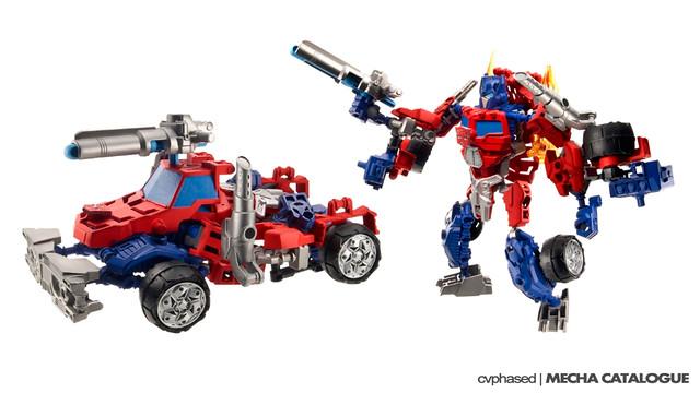 Transformers HeroFactory... err... Construct-Bots
