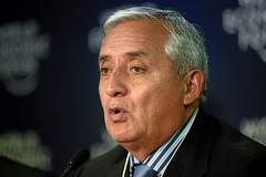 Guatemalan President Molina