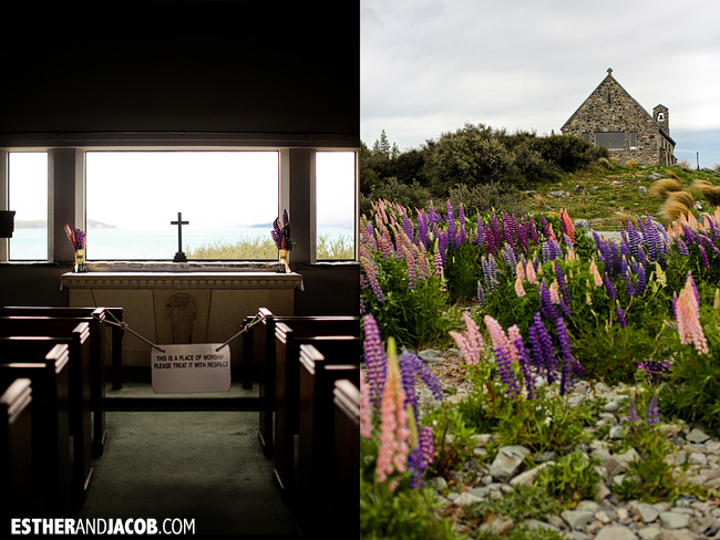 Lake Tekapo Church of the Good Shepherd | Day 2 New Zealand Contiki Tour | Christchurch to Lake Ohau | A Guide to South Island