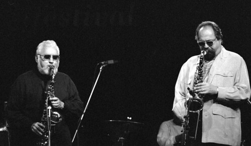 Joe Lovano - Lee Konitz Glasgow nd c 1994  33