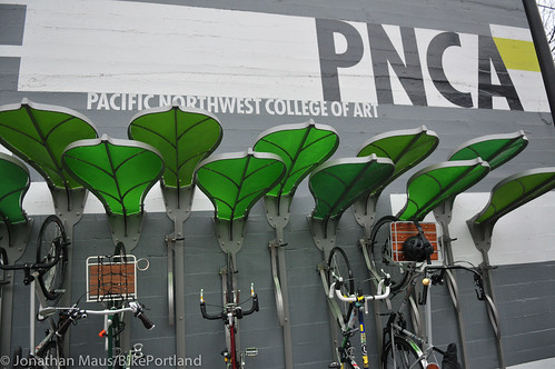 Pedal Garden dedication event at PNCA-1