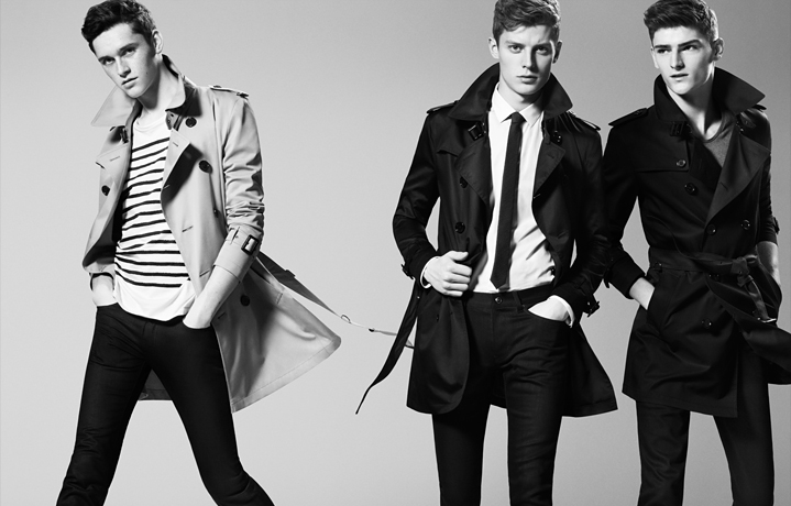 Burberry Black Label SS13_002Anders Hayward,Alexander Beck,Janis Ancens