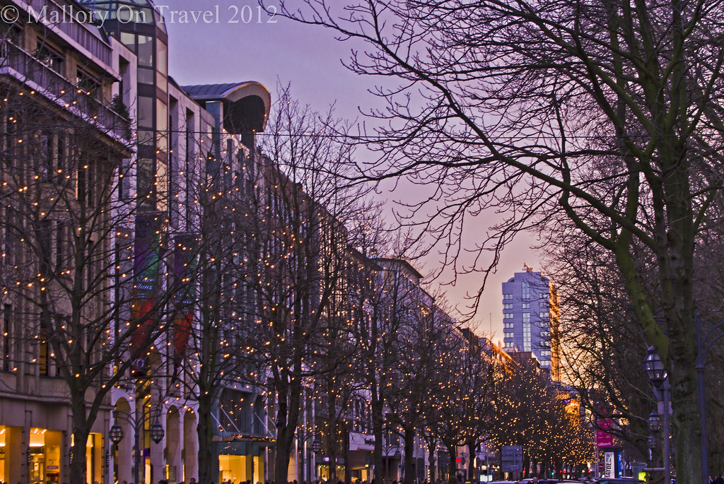 Sightseeing at dusk in Dusseldorf, North Germany  on Mallory on Travel, adventure, adventure travel, photography Iain Mallory-300-16