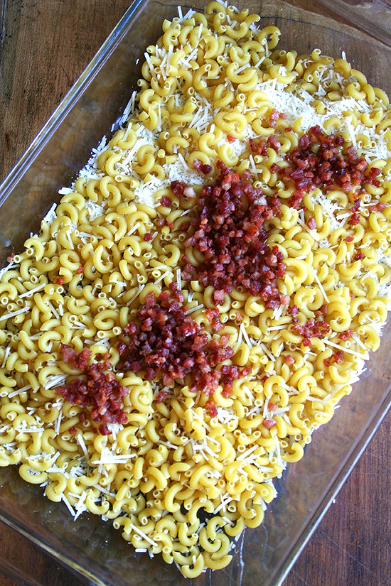 macaronicheese&pancetta