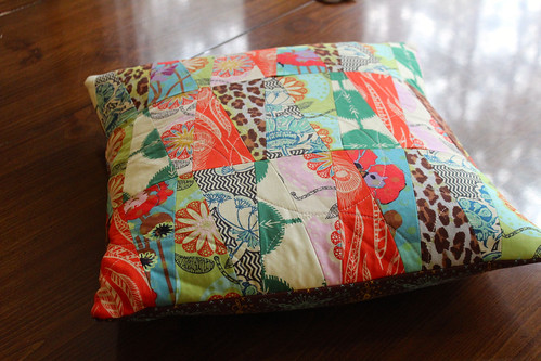 Field Study Pillow Quilting