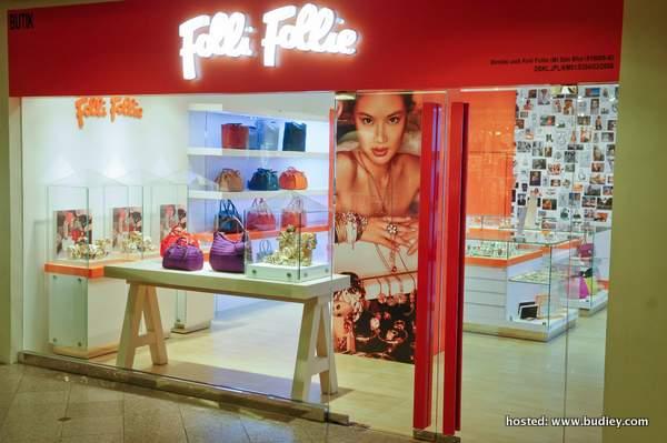 Folli Follie Lancar Butik Konsep Baru Di Kuala Lumpur