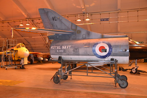 XL602 G-BWFT Hunter T.8M Tail Section