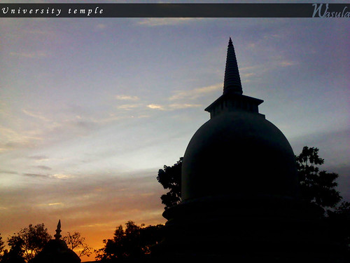 sunset temple university peradeniya