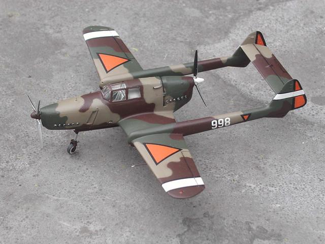 Fokker D.23 scale model