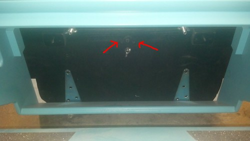 open pedal screws