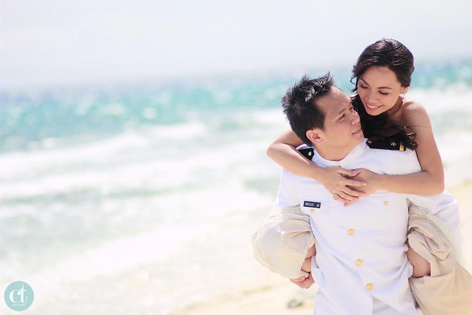 sumilon island resort cebu post wedding session, Destination Wedding Photographer