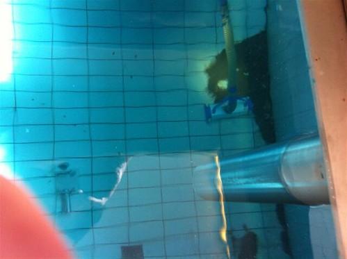 Onderwater stofzuigen