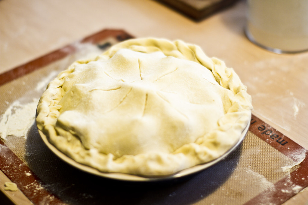 baking apple pie