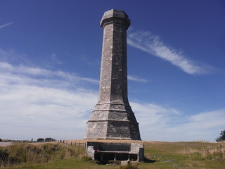 Hardy Monument and Memorial Bench