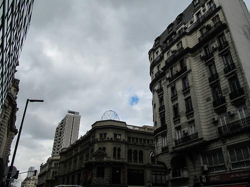 Buenos Aires: le centre-ville, à côté du quartier financier