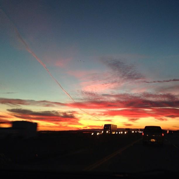 Into the sunset... #nofilter #birthdayweek