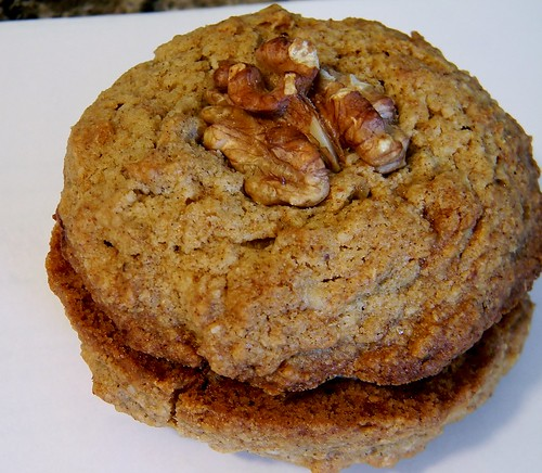 Walnut Cookie Sandwiches