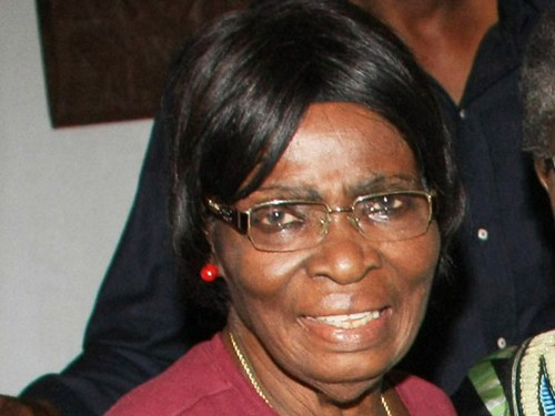 Retired Prof. Kamene Okonjo was kidnapped in Nigeria on December 9, 2012 at her home. The mother of the Finance Minister was abducted by  a gang of ten men. by Pan-African News Wire File Photos