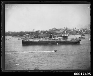 KITANO MARU at the opening of the Sydney Harbour Bridge