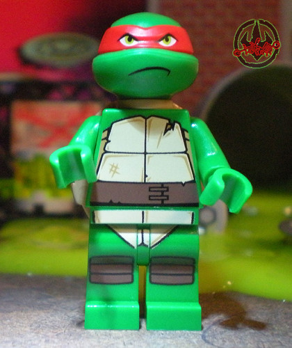 "LEGO Teenage Mutant Ninja Turtles :: ""Stealth Shell in Pursuit"" ; Raphael v (( 2013 ))"
