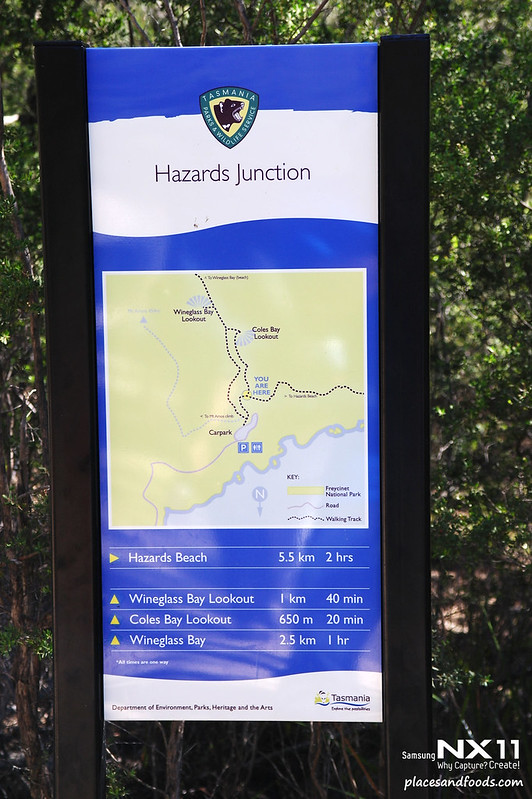 freycinet hazards junction