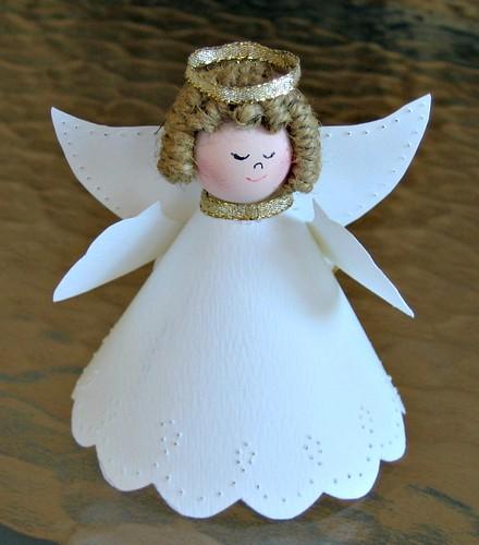 Pierced Paper Angel