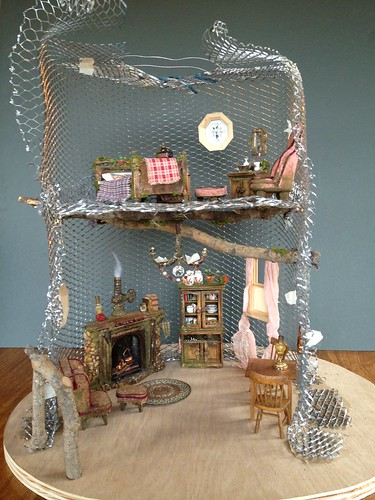 Tutorial: Fairy House Tree House Pt. 2
