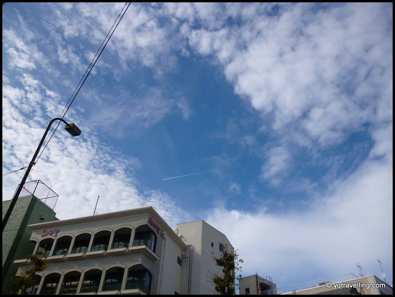 Kamakura sky