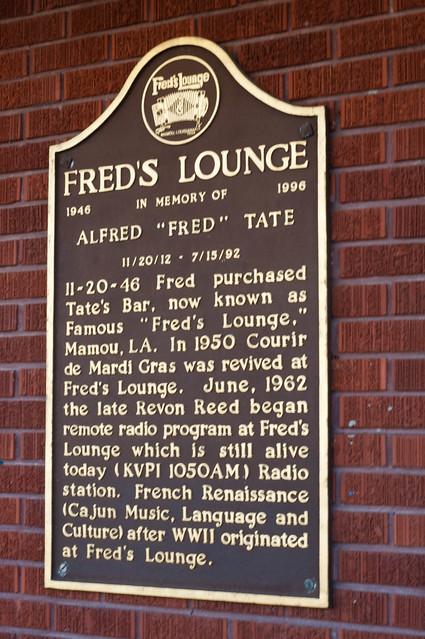 The unique and historic Fred's Lounge in Mamou, LA | PopArtichoke