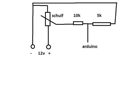 brandstofniveau bepalen met arduino - forum