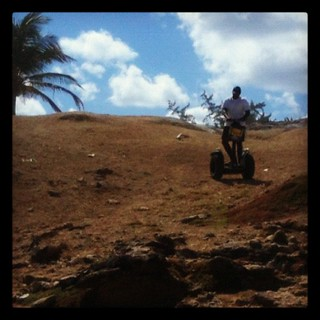 Barbados offroad Segway tour