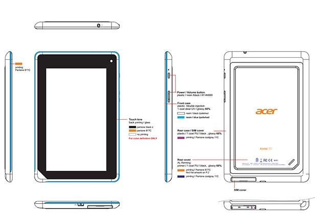 Acer Iconia Tab A1-B71