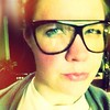 The original hipster glasses from 1987, courtesy of my darling mum.