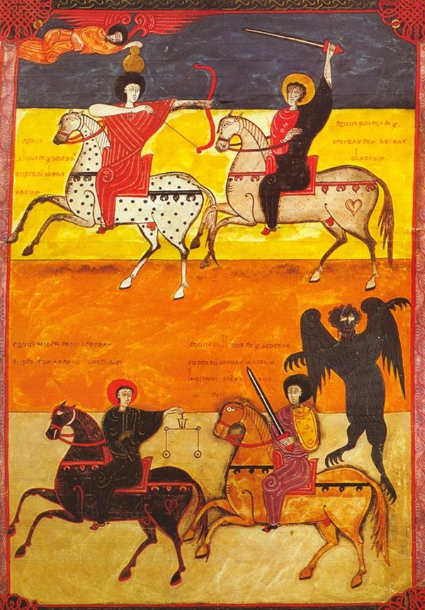 The Four Horsemen of the Apocalypse – The Public Domain Review