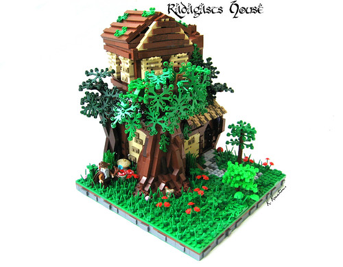 lego hobbit house instructions