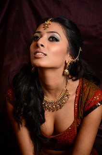 Asian bridal shoot with Chandni