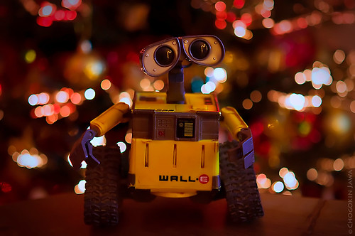 Christmas spirit for WALL•E