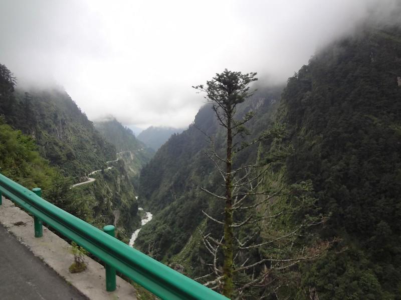Estrada Zhangmu até Nyalam no Tibete