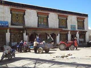 Vila de Nyalam Tibete